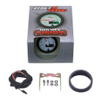 White & Green MaxTow Voltmeter Gauge Unboxed