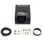 GlowShift Black 7 Color 100 PSI Boost Gauge Unboxed