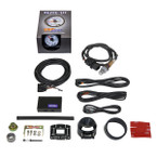 GlowShift White Elite 10 Color Wideband Air/Fuel Ratio Gauge Unboxed