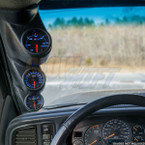 2000-2006 Chevrolet Silverado Duramax Triple Pillar Pod Installed
