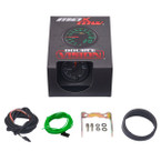 Black & Green MaxTow 10,000 RPM Tachometer Gauge Unboxed