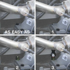 Installation with a Boost Sensor is easy as 1-2-3