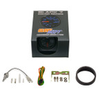 GlowShift Black 7 Color Water Temperature Gauge Unboxed