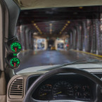Elite 10 Color Series Dual Gauge Package for 2000-2007 Chevrolet Silverado Duramax Installed