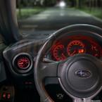 2012-2016 Subaru BRZ & Scion FR-S Air Vent Single Gauge Pod Installed