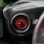 2012-2016 Subaru BRZ & Scion FR-S Air Vent Single Gauge Pod Installed Close Up