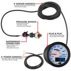 MaxTow Pressure Gauge Wiring Schematic