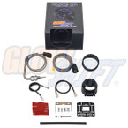 GlowShift Elite 10 Color 2200 Degree F Exhaust Gas Temperature Gauge Unboxed