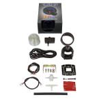 GlowShift Elite 10 Color BAR Electronic Boost/Vacuum Gauge Unboxed