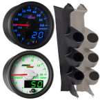 2008-2010 Ford Super Duty Power Stroke Custom MaxTow Gauge Package Thumb