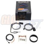 GlowShift Black 7 Color 1500° F Pyrometer EGT Gauge Unboxed