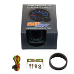 GlowShift Tinted 7 Color Needle Air/Fuel Ratio Gauge Unboxed