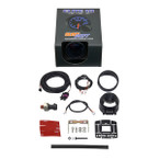 GlowShift Elite 10 Color 30 PSI Fuel Pressure Gauge Unboxed