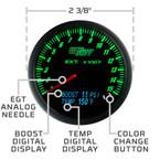 3in1 Combo Gauge Features