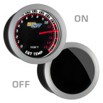Tinted 1500 Degree Fahrenheit Pyrometer EGT Gauge On/Off View