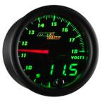 Black & Green MaxTow Volt Gauge