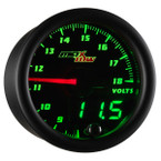 Black & Green MaxTow Volt Gauge