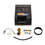 GlowShift 10 Color Digital Oil Temperature Gauge Unboxed