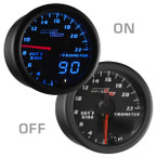 Black & Blue LED MaxTow 2200° F Exhaust Gas Temperature Gauge On/Off