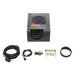 GlowShift Tinted 7 Color 30 PSI Fuel Pressure Gauge Unboxed