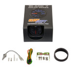 GlowShift Black 7 Color Celsius Oil Temperature Gauge Unboxed