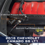 -6 AN Adapter Installed to 2016 Chevrolet Camaro SS LT1