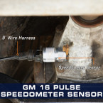 GM 16 Pulse Speedometer Sensor Adapter Installed to Monte Carlo SS