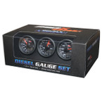 Black & Blue MaxTow 3 Gauge Diesel Set