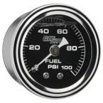100 PSI Liquid Filled Mechanical Fuel Pressure Gauge