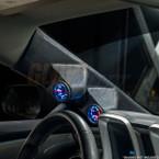 2010-2015 Chevrolet Camaro Full Size Dual Pillar Pod Side View Installed