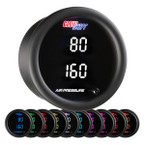 10 Color Digital Dual Air Pressure Gauge