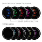 10 Color Digital Ambient Air Temperature Gauge