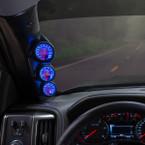 MaxTow Triple Gauge Package for 2014-2019 Chevrolet Silverado Duramax