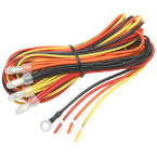 7 Color Series 4 Gauge Wiring Kit with Power Wires Only
