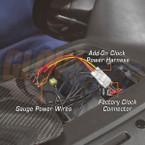 Add-On Clock Power Harness Installed to 2005 Subaru Impreza WRX STI