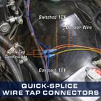 Quick-Tap Wire Splice Connectors