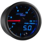 Black & Blue MaxTow 15 PSI Fuel Pressure Gauge