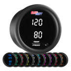 10 Color Digital Dual Temperature & Pressure Gauge