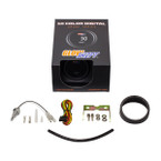 GlowShift 10 Color Digital Water Coolant Temperature Gauge Unboxed
