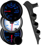 7 Color Series Triple Gauge Package for 1987-1991 Ford F-Series