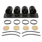 Everything Included with Universal Quad Gauge Swivel Dashboard Pod