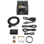 Black 7 Color Analog E85 Wideband Air/Fuel Ratio Gauge Unboxed
