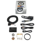 White 7 Color Analog E85 Wideband Air/Fuel Ratio Gauge Unboxed