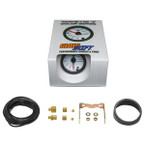 GlowShift White 7 Color 20 PSI Boost Gauge Unboxed