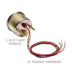 Mechanical 200 PSI Air Pressure Gauge - Back of Gauge
