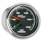 Mechanical 200 PSI Dual Needle Air Pressure Gauge