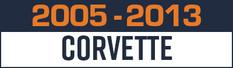 2005-2013 Chevrolet Corvette Gauge Pods