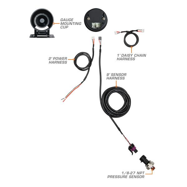 Elite Fuel Pressure Gauge Wiring Schematic