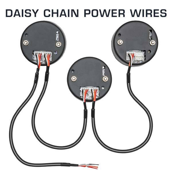 Daisy Chain Power Wires