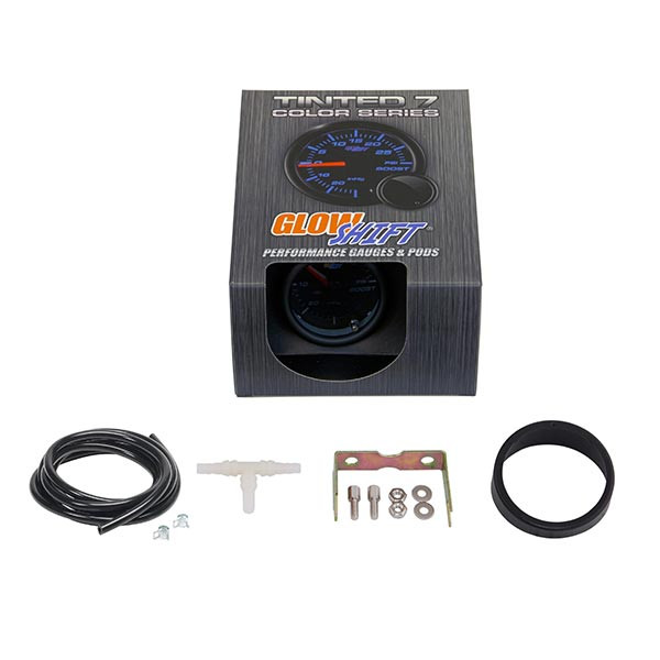 GlowShift Tinted 7 Color 15 PSI Boost/Vacuum Gauge Unboxed